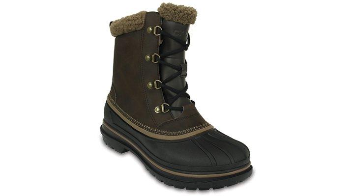 Crocs Espresso / Black Men'S Allcast Ii Boot Shoes