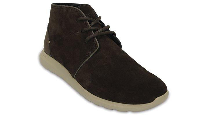 Crocs Espresso / Cobblestone Men'S Crocs Kinsale Chukka Shoes