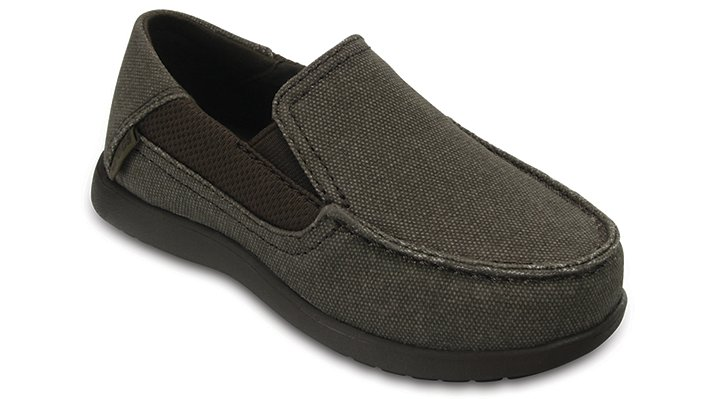 Crocs Espresso / Espresso Kids' Santa Cruz Ii Loafer Shoes