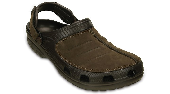 Crocs Espresso / Espresso Men's Yukon Mesa Clog Shoes