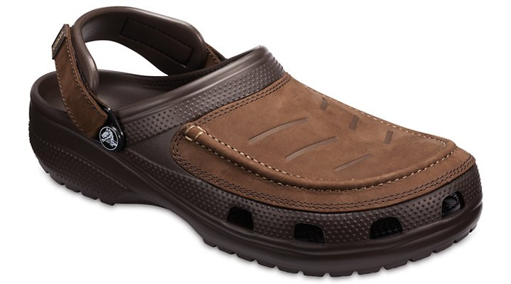 Crocs Espresso / Espresso Men's Yukon Vista Clogs Shoes
