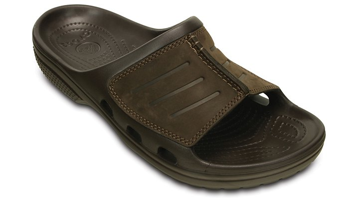 Crocs Espresso / Espresso Yukon Mesa Slide Shoes