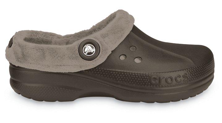 Crocs Espresso / Mushroom Blitzen Polar Comfortable Furry Clog