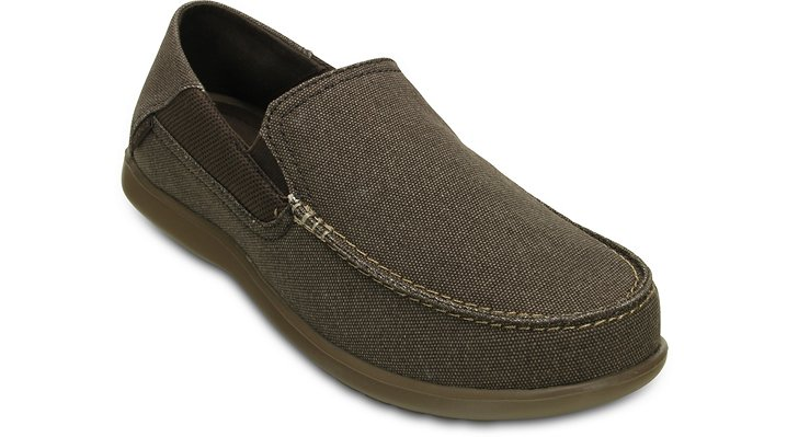 Crocs Espresso / Walnut Men'S Santa Cruz 2 Luxe Loafer Shoes