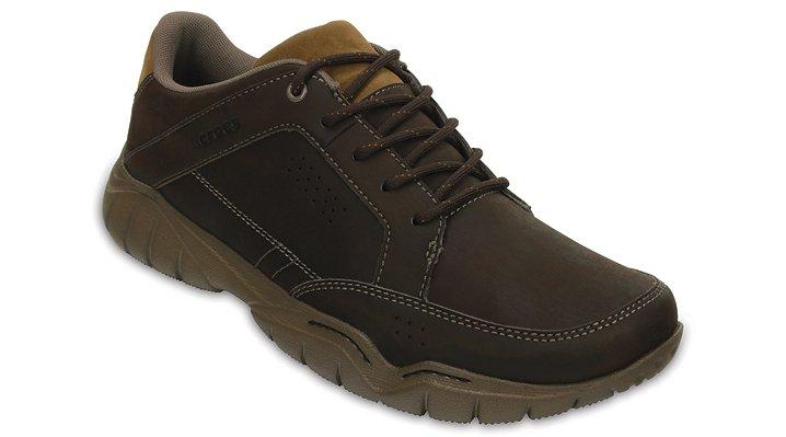 Crocs Espresso / Walnut Men'S Swiftwater Hiker Shoes