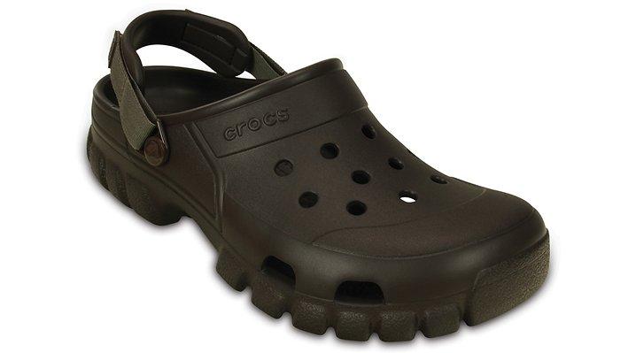 Crocs Espresso / Walnut Offroad Sport Clog Shoes