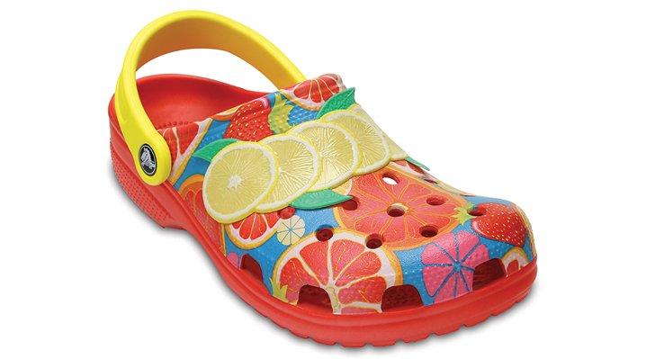 Crocs Flame Classic Fruit Ii Clogs Shoes