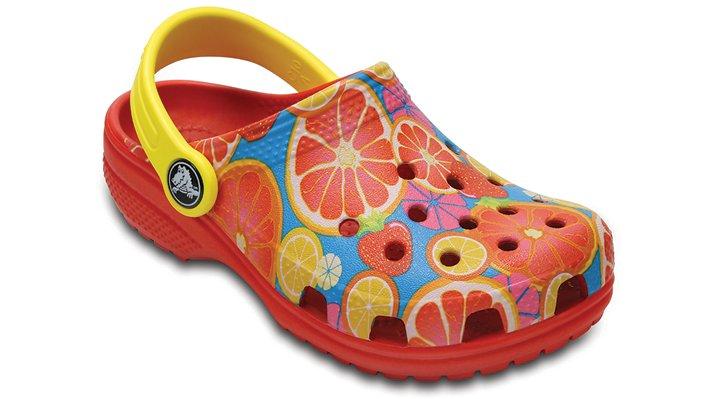 Crocs Flame Kids' Classic Fruit Clogs Shoes