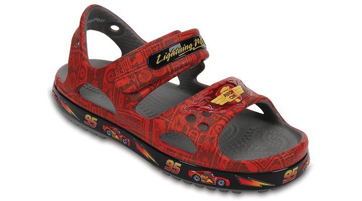 Crocs Flame Kids' Crocband™ Ii Lightning Mcqueen™ Sandal Shoes