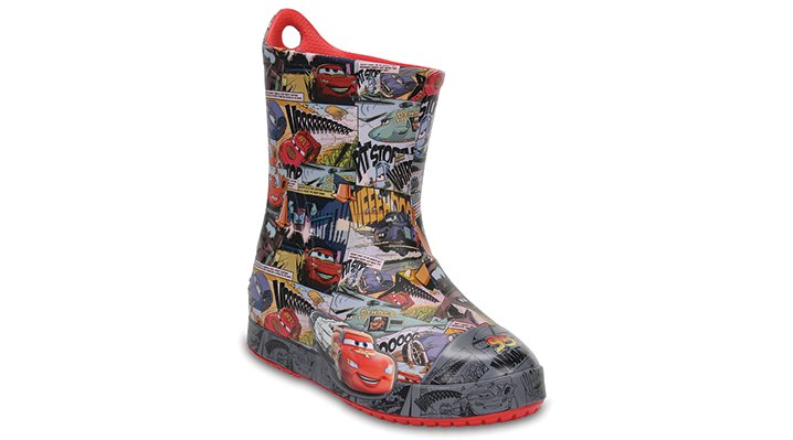 Crocs Flame Kids' Crocs Bump It Cars™ Lightning Mcqueen™ Boots Shoes
