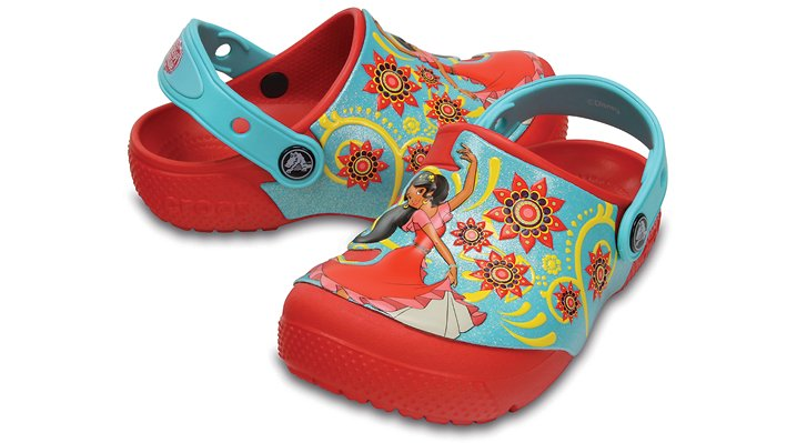 Crocs Flame Kids' Crocs Fun Lab Elena Of Avalor™ Clogs Shoes