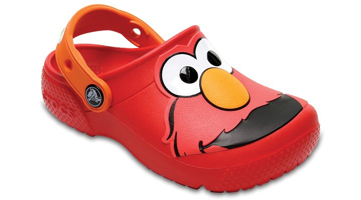 Crocs Flame Kids' Crocs Fun Lab Elmo™ Clog Shoes