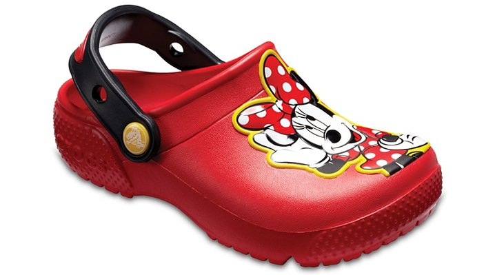 Crocs Flame Kids' Crocs Fun Lab Minnie™ Clogs Shoes