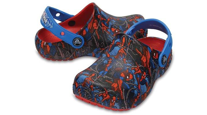Crocs Flame Kids' Crocs Fun Lab Spider-Man™ Clogs Shoes