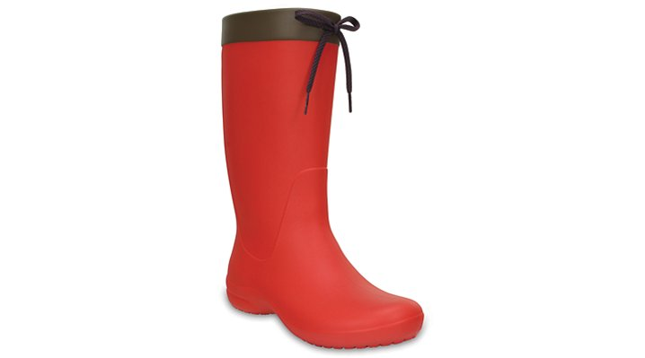 Crocs Flame Women's Crocs Freesail Rain Boot Shoes