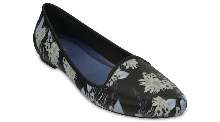 Crocs Flowers Women's Crocs Eve Graphic Flat Shoes