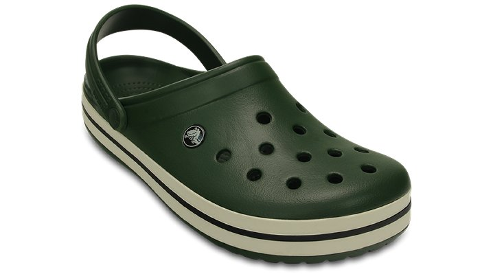 Crocs Forest / Stucco Crocband™ Clog Comfortable Clogs