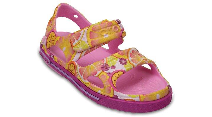 Crocs Fruit Kids' Crocband™ Ii Graphic Sandal Shoes