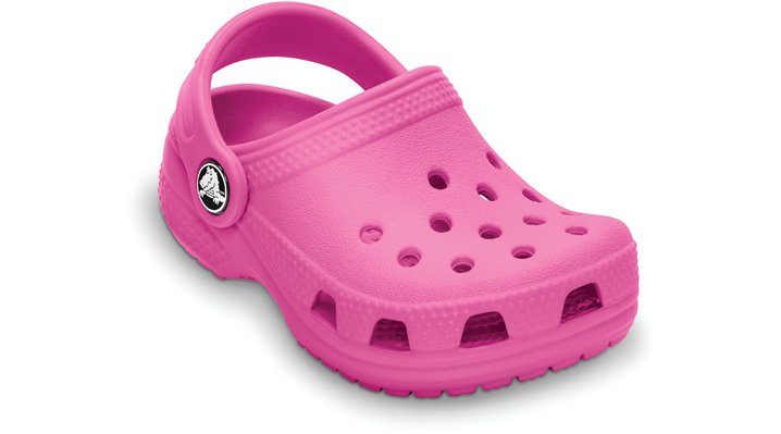 Crocs Fuchsia Kids' Crocs Littles Kids' Comfortable Clogs