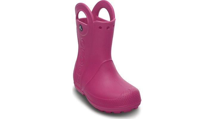 Crocs Fuchsia Kids' Handle It Rain Boot Kids' Easy-On Rain Boots