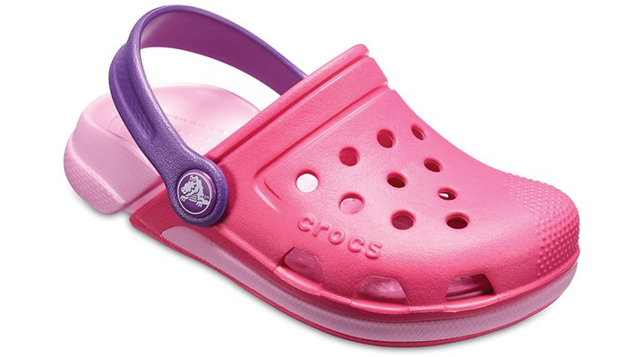 Crocs Fuchsia / Purple Kids' Electro Iii Clogs Shoes