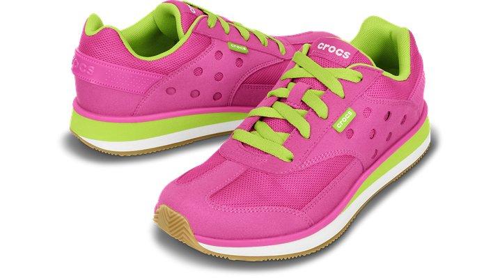 クロックス レトロ スニーカー ウィメン - Crocs Retro Sneaker W (送料無料)