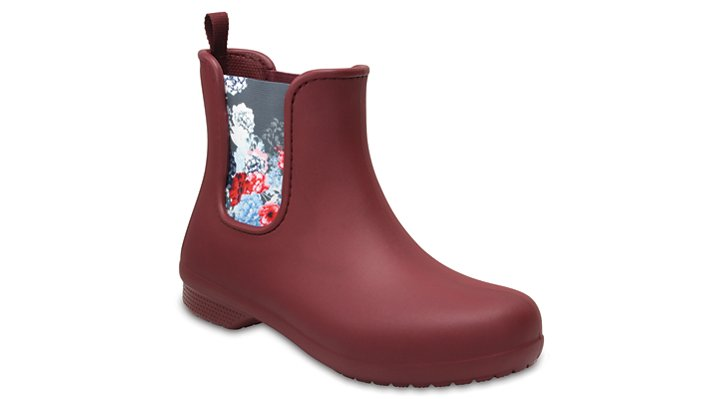 Crocs Garnet Women's Crocs Freesail Chelsea Boot Shoes