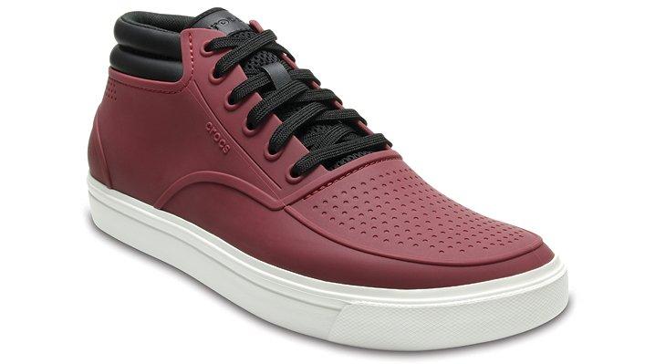 Crocs Garnet/White Men's Citilane Roka Chukka Shoes