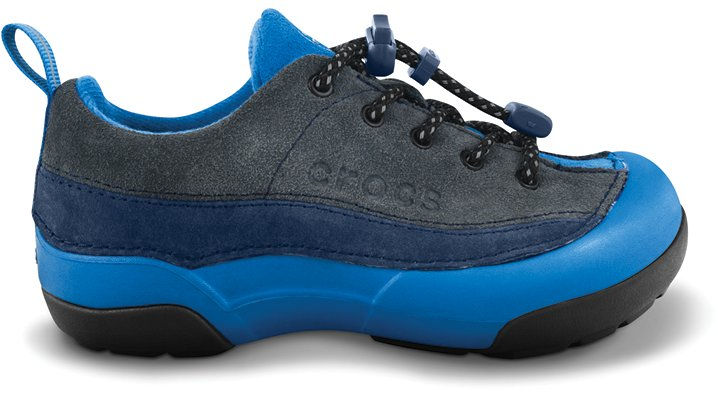 Crocs Graphite / Navy Kids' Dawson Sneak Kids' Comfortable Shoes