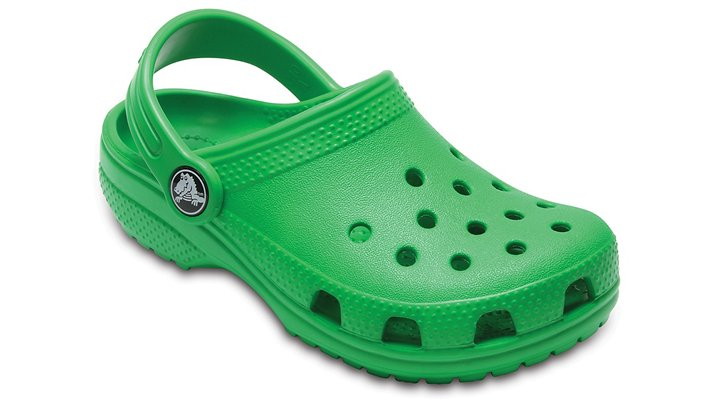 Crocs Grass Green Kids' Classic Clog Shoes 2045363E8