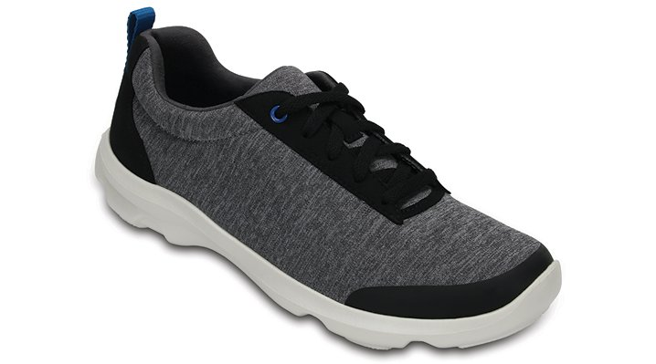 Crocs Grey Women's Busy Day Heather Lace-Up Shoes
