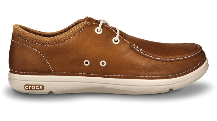 Crocs Hazelnut / Stucco Thompson Lace Men's Comfortable Shoes