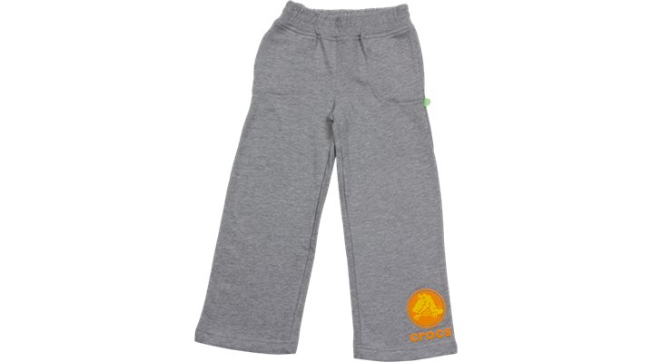 Crocs Heather Grey / Mango Crocs Boys' Sweat Pants Shoes