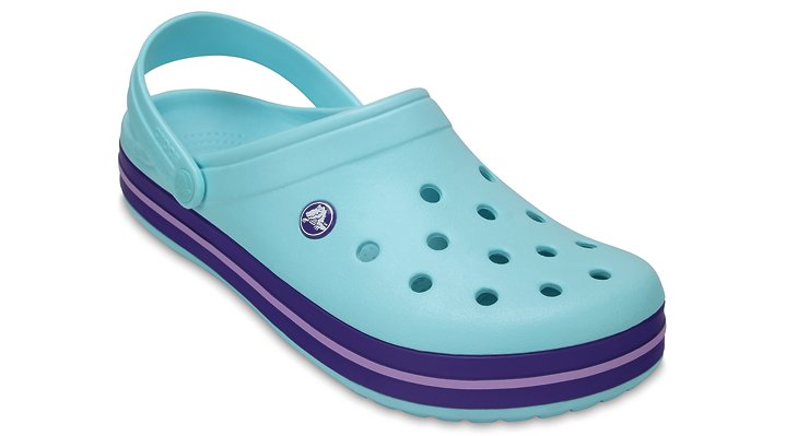 Crocs Ice Blue Crocband™ Clog Shoes
