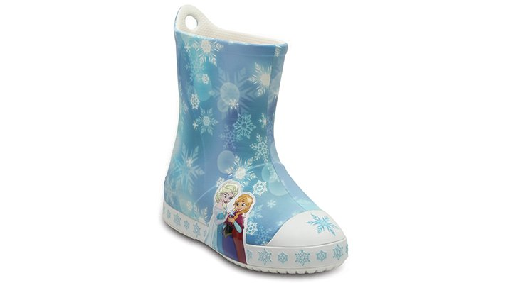 Crocs Ice Blue Kids' Crocs Bump It Frozen™ Rain Boot Shoes
