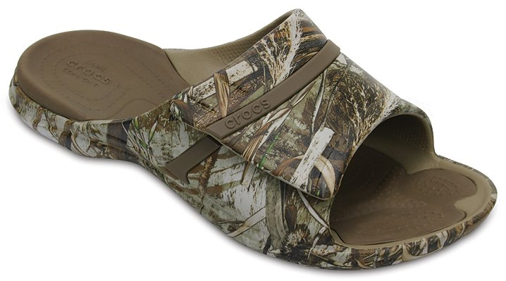 Crocs Khaki Modi Sport Realtree Max-5® Slides Shoes
