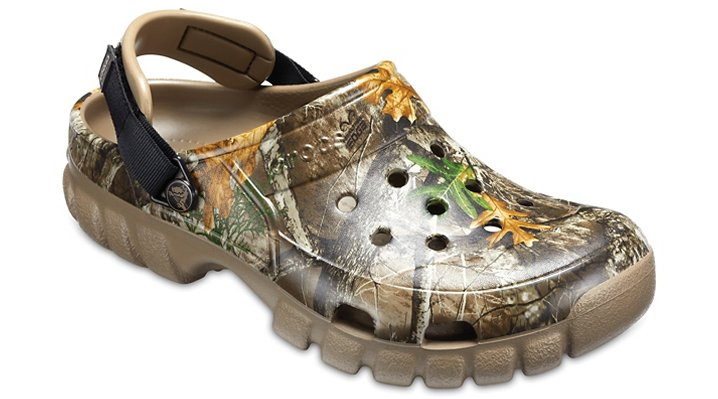 Crocs Khaki Offroad Sport Realtree® Edge Clog Shoes