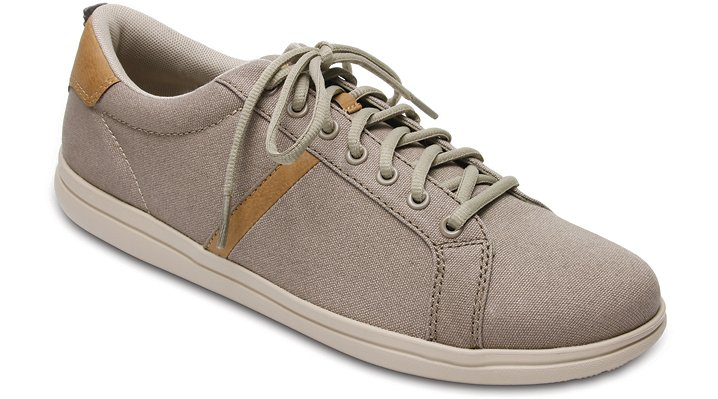 Crocs, Inc. Crocs Khaki  /  Cobblestone Men's Crocs Torino Lace - up Shoes