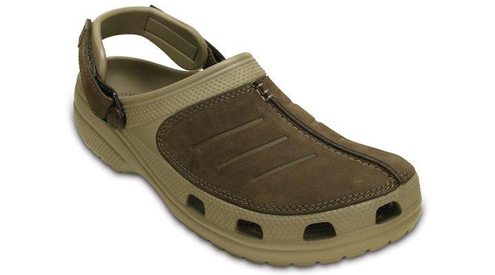 Crocs Khaki / Espresso Men's Yukon Mesa Clog Shoes