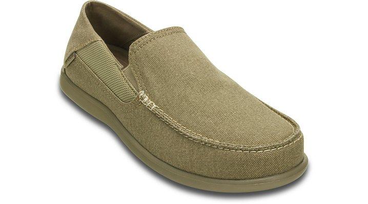 Crocs Khaki / Khaki Men'S Santa Cruz 2 Luxe Loafer Shoes