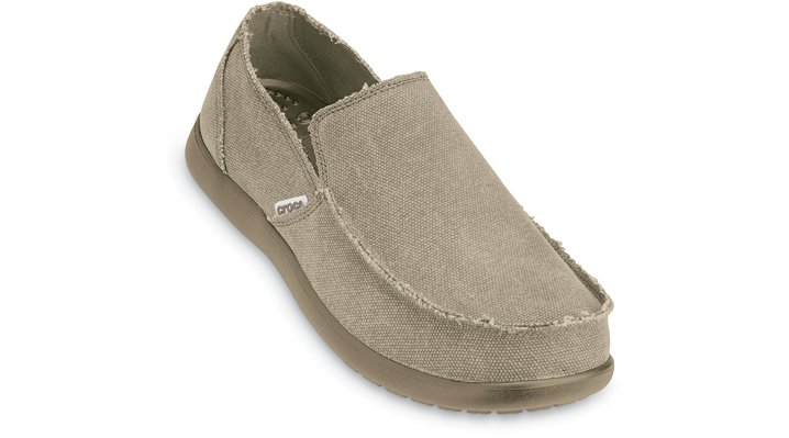 Crocs Khaki / Khaki Men's Santa Cruz Shoes