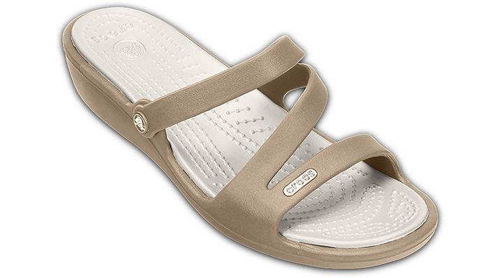Crocs Khaki / Pearl Patricia Shoes