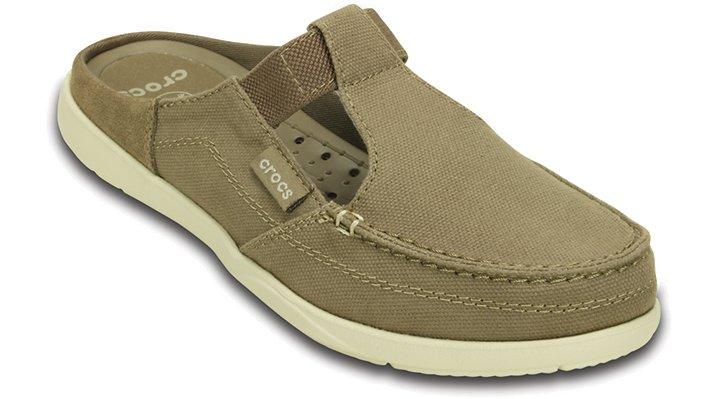 Crocs Khaki / Stucco Women'S Walu Mule Shoes