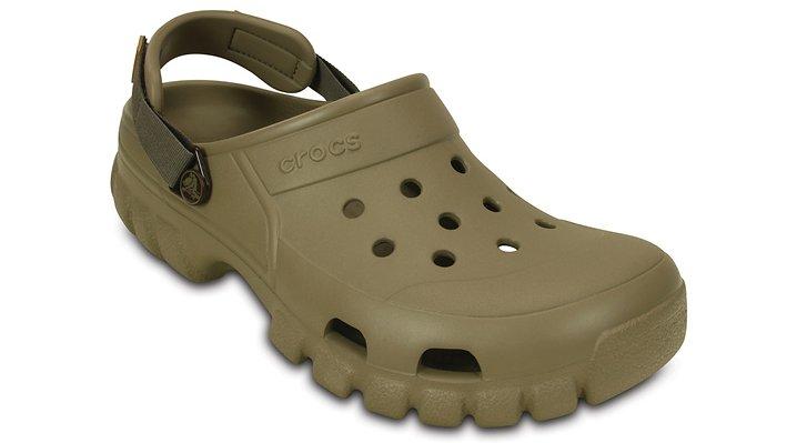 Crocs Khaki / Walnut Offroad Sport Clog Shoes 20265124S