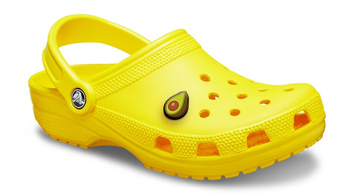Crocs Lemon Classic Clog Shoes