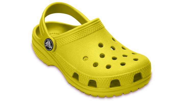 Crocs Lemon Kids' Classic Clog Shoes