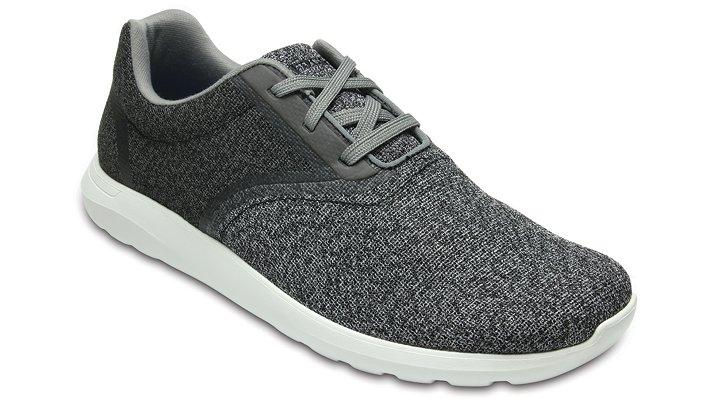 Crocs Light Grey / White Crocs Kinsale Static Lace Shoes
