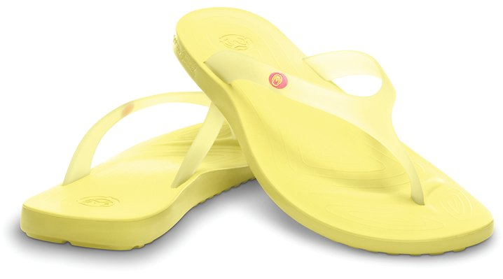 Ocean Minded Mellow Yellow Malia Comfortable Women's Flip Flops