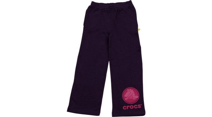 Crocs Mulberry / Black Crocs Girls' Sweat Pants Shoes