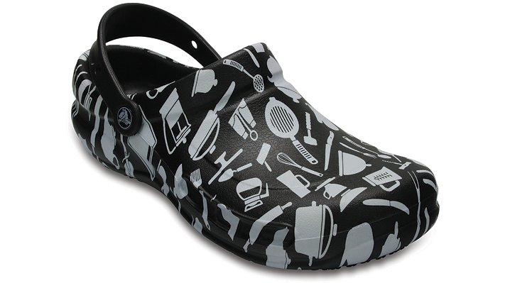 Crocs Pfd Multi Bistro Graphic Clogs Shoes